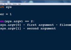 Python Command Line Arguments