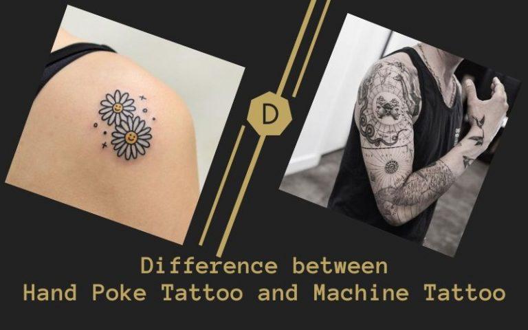 stick and poke tattoo
